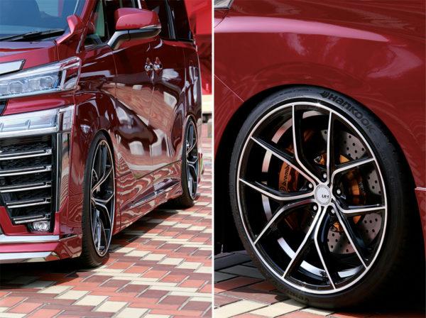 ホンダステップワゴンのタイヤのサイズアップはどうやる?