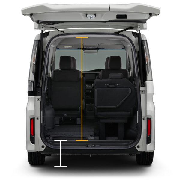 ホンダステップワゴンの荷室容量はどのくらいなの?